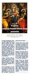 P. RUNGI. I TESTI DELLE VARIE PREGHIERE INIZIO 2017