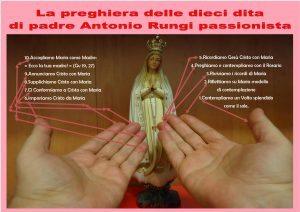 preghiera dieci dita